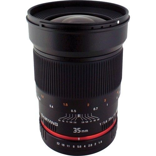 Samyang 35mm F1.4 AS UMC Lens for Nikon F (AE Chip)
