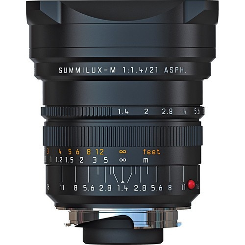 Leica 21mm F1.4 Summilux-M ASPH. - Black (11647)