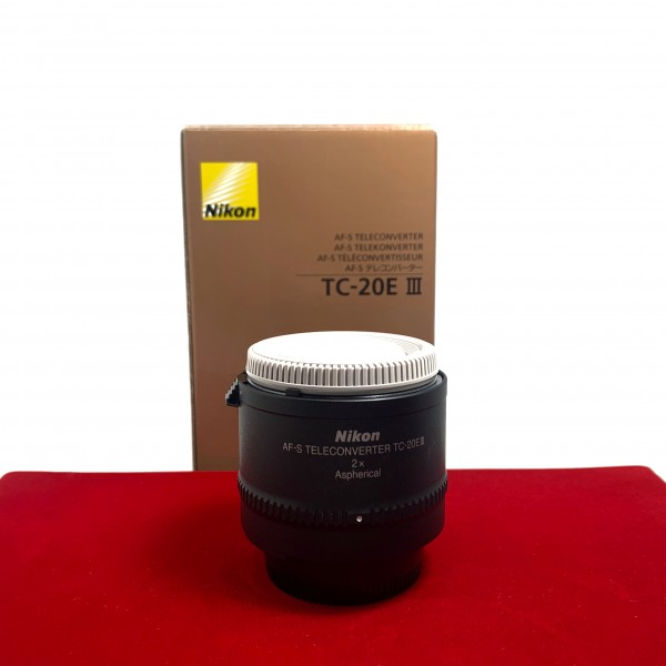 [USED-PJ33] Nikon TC-20E III 2X Teleconverter , 80% Like New Condition (S/N:211282)