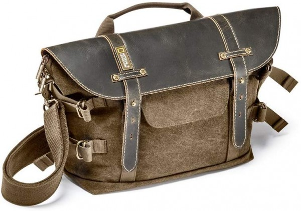 National Geographic NG A2140 Africa Camera Bag Midi Satchel, Brown