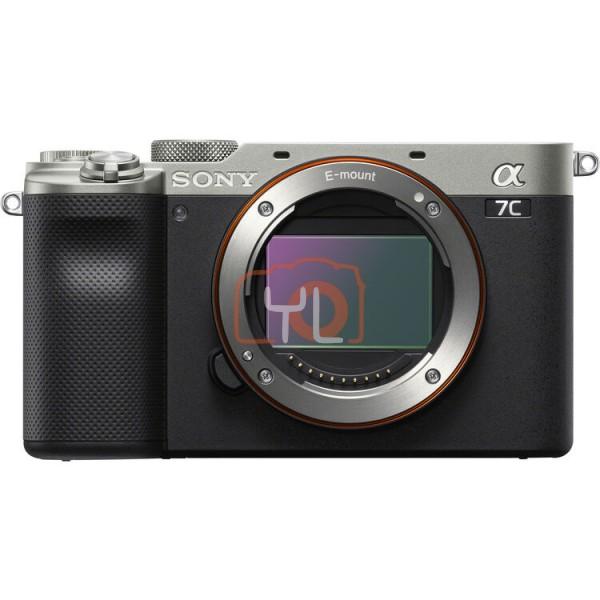 Sony A7C Full Frame Mirrorless - Silver (Free 64GB SD Card)