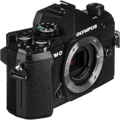 Olympus OM-D E-M5 Mark III W/ 14-150mm Lens – Black [Online Redemption Extra Battery + 32GB SD Card UHS-II + Olympus Bag]