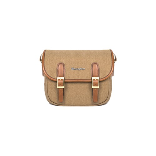 (SPECIAL DEAL) Herringbone Maniere Small Camera Bag (Khaki)