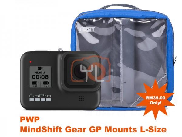 GoPro HERO8 Black (PWP MindShift Gear GP Mounts L-Size)