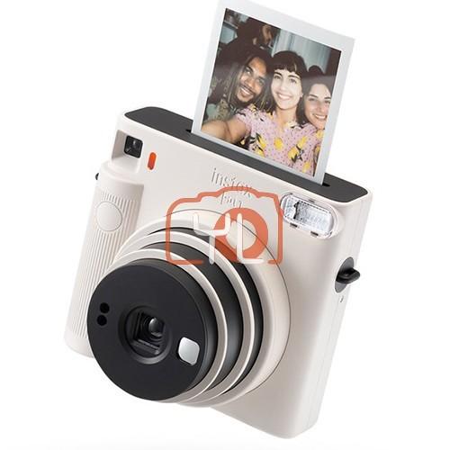 Fujifilm Instax SQ1 (White) W/ 1 Packs of Film