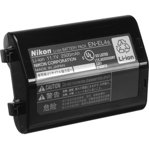 Nikon EN-EL4a Rechargeable Lithium-Ion Battery