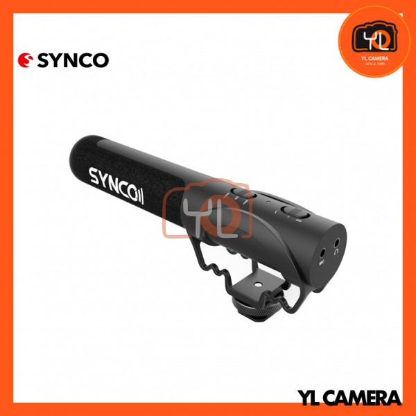 Synco Mic-M3 Camera-Mount Shotgun Microphone