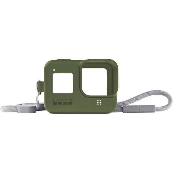 GoPro HERO8 Sleeve + Lanyard (Turtle Green)