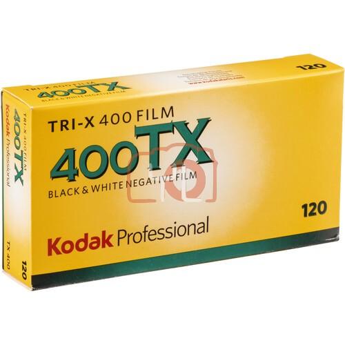 Kodak Professional Tri-X 400 Black and White Negative Film (120 Roll Film, 25-Pack)