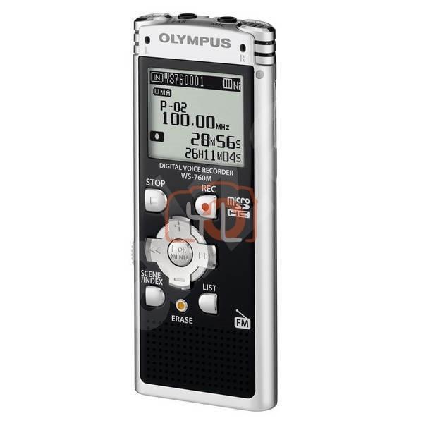 Olympus WS 760M - Digital voice recorder with radio