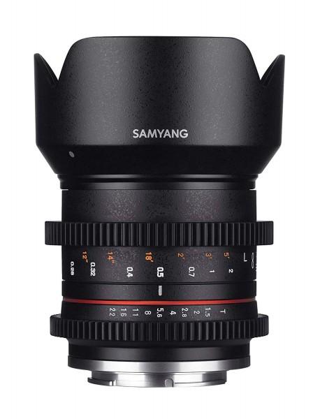 Samyang 21mm T1.5 Compact High-Speed Cine Lens for Sony E