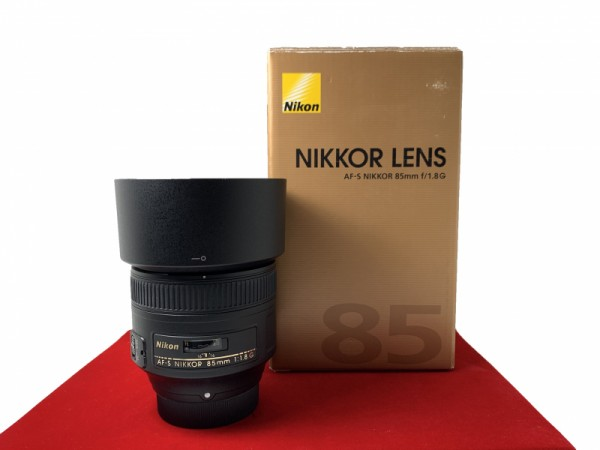 [USED-PJ33] Nikon 85mm F1.8G AFS, 95% Like New Condition (S/N:2157575)
