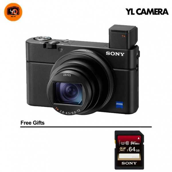 (Promotion) Sony RX100 Mark VII [Free 64GB SD Card]