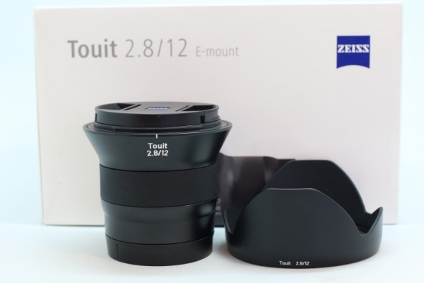 [USED-PUDU] ZEISS 12MM F2.8 Touit LENS E-MOUNT 95%LIKE NEW CONDITION SN:51012284