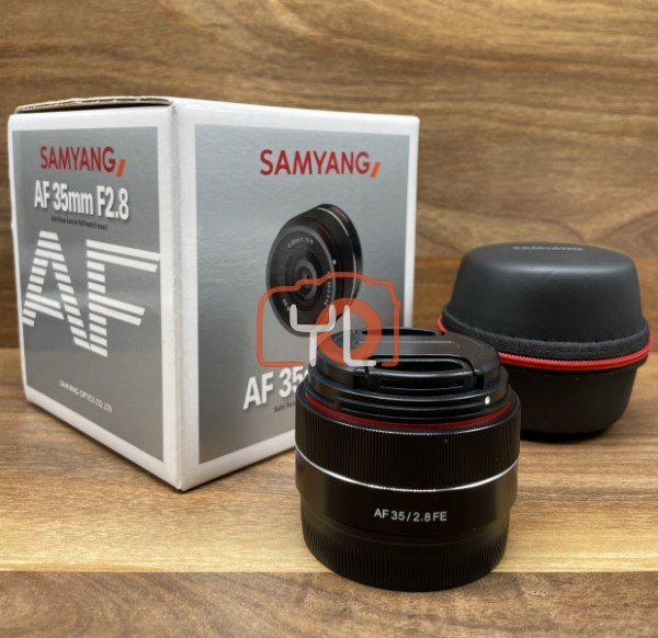 [USED @ YL LOW YAT]-Samyang AF 35mm F2.8 FE Lens for Sony E,95% Condition Like New,S/N:BFP15171