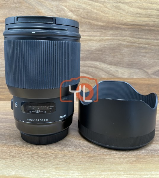 [USED @ YL LOW YAT]-Sigma 85mm F1.4 DG Art Lens For Canon EF,90% Condition Like New,S/N:52403039