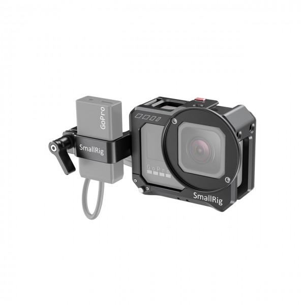 SmallRig CVG2678 Vlogging Cage and Mic Adapter Holder for GoPro HERO8 Black