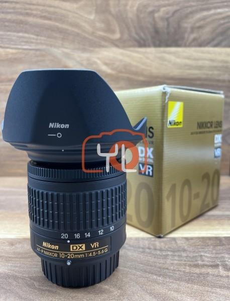 [USED @ YL LOW YAT]-Nikon AF-P 10-20mm F4.5-5.6 G DX VR Lens,98% Condition Like New,S/N:259787