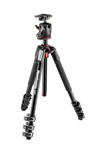 Manfrotto MK190XPRO4-BHQ2 Aluminum Tripod with XPRO Ball Head and 200PL QR Plate