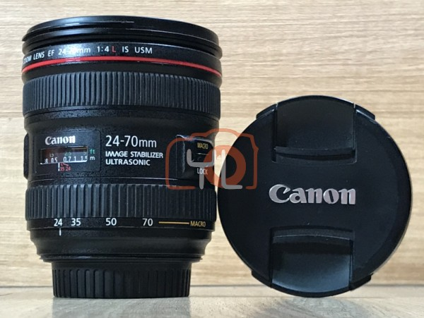 [USED @ YL LOW YAT]-Canon EF 24-70mm F4 L IS USM Lens,90% Condition Like New,S/N:4503001496