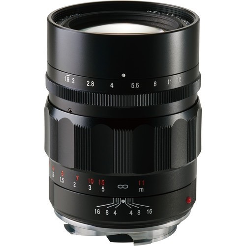 Voigtlander Heliar 75mm F1.8 Lens