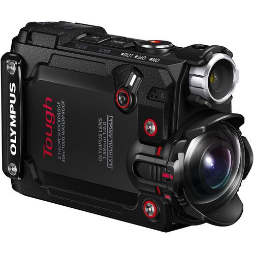 Olympus TG-Tracker Tough Action Camera (Black)