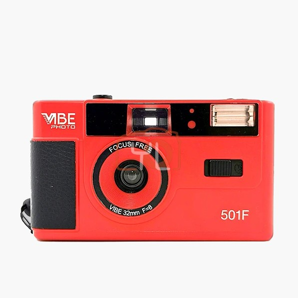 VIBE Photo 32mm Film Camera - RED