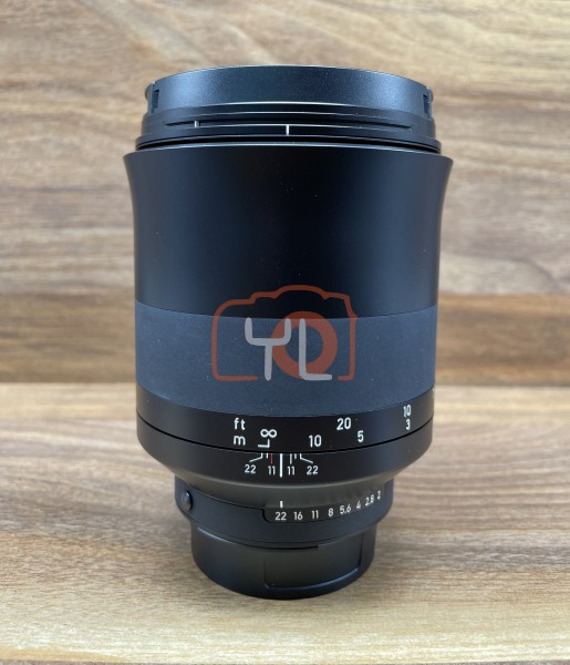 [USED @ YL LOW YAT]-ZEISS Milvus 135mm F2 ZF.2 Lens For Nikon F,95% Condition Like New,S/N:51660512