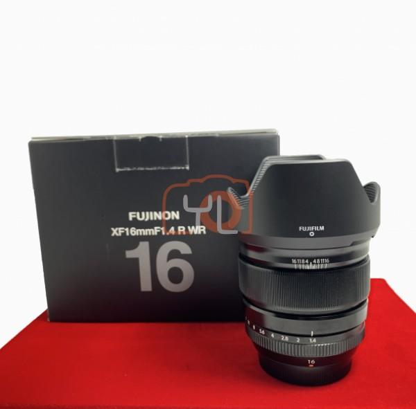 [USED-PJ33] Fujifilm 16MM F1.4 R WR XF, 95% Like New Condition (S/N:58A01361)