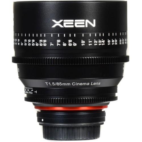 Samyang Xeen 85mm T1.5 Lens for Canon EF Mount