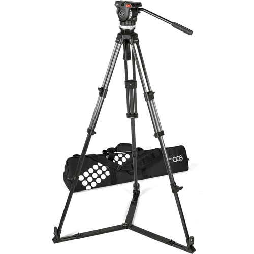 (Pre-Order) Sachtler Ace XL Tripod System with CF Legs & Ground Spreader (75mm Bowl)