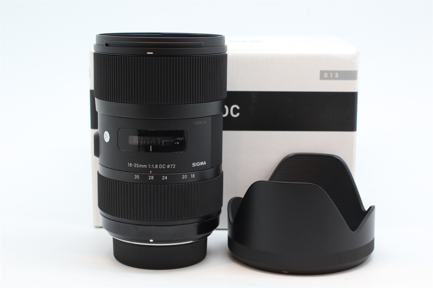 [USED-PUDU] SIGMA 18-35MM F1.8 DC ART FOR NIKON MOUNT 95%LIKE NEW CONDITION  SN:5038884