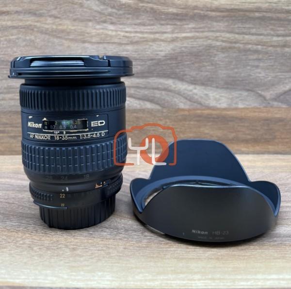 [USED @ YL LOW YAT]-Nikon AF 18-35mm F3.5-4.5 D Nikkor Lens,85% Condition Like New,S/N:266806