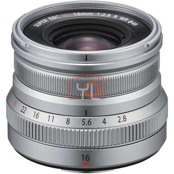 Fujifilm XF 16mm F2.8 R WR - Silver