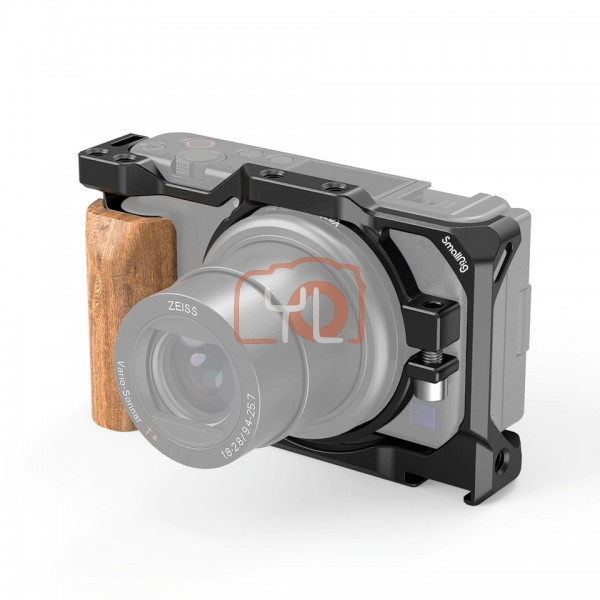 SmallRig 2937 CAGE WITH WOODEN HANDGRIP FOR SONY ZV1