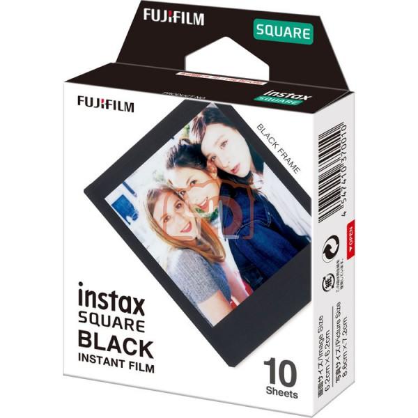 FUJIFILM INSTAX SQUARE Instant Film (Black Frame - 10 Exposures)