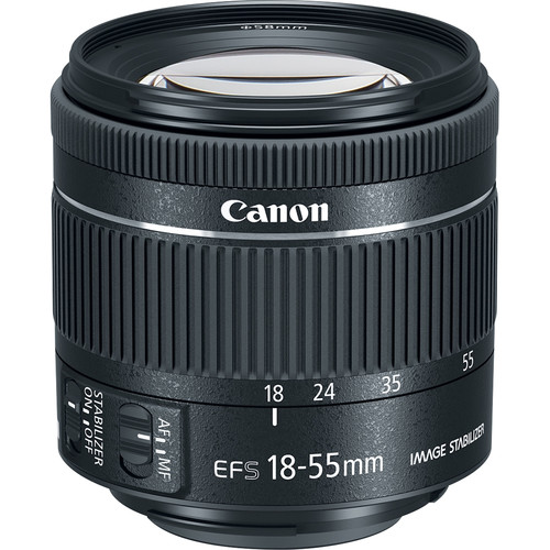 Canon EF-S 18-55mm F4.5-5.6 IS STM