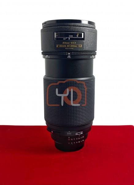 [USED-PJ33] Nikon 80-200MM F2.8 AF ED, 90% Like New Condition (S/N:211795)