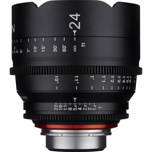 Samyang Xeen 24mm T1.5 Lens for Nikon F Mount