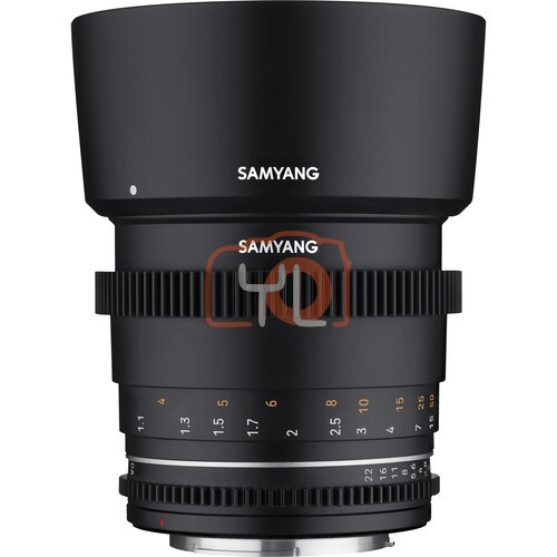 Samyang 85mm T1.5 MK2 Cine Lens
