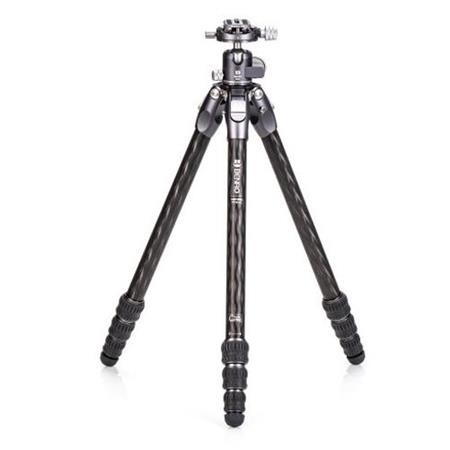 Benro TTOR14CGX25 Tortoise Columnless Carbon Fiber One Series 3-Leg Section Tripod with GX25 Ballhead