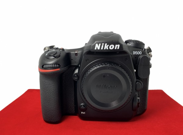 [USED-PJ33] Nikon D500 Body (Shutter Court:4K), 95% Like New Condition (S/N:8504380)
