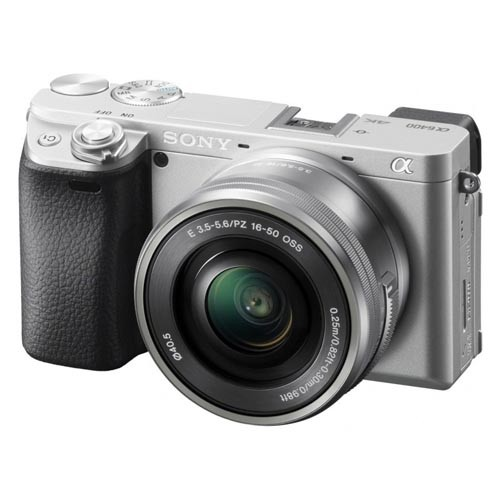 Sony a6400 (Silver) + E PZ 16-50mm F3.5-5.6 OSS [Free 64GB SD Card]