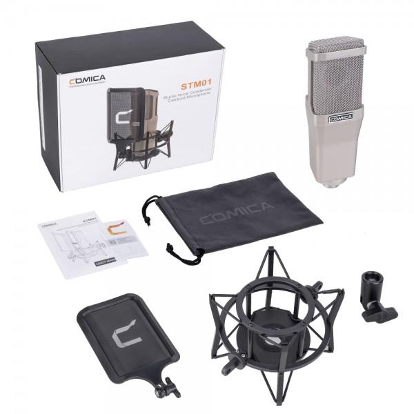 Comica STM01 Professional Studio Vocal Condenser Cardioid Microphone