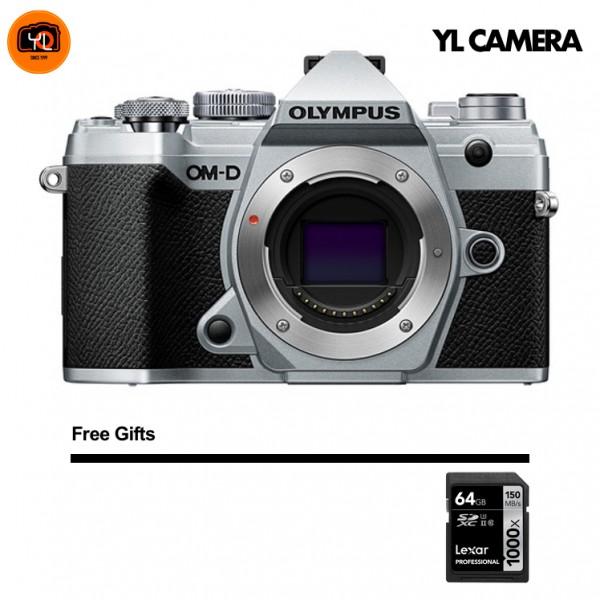 (CNY Offer) Olympus OM-D E-M5 Mark III - Silver (Free Lexar 64GB SD Card 150MB/s)