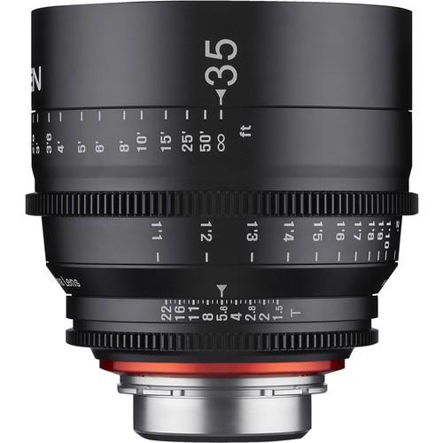 Samyang Xeen 35mm T1.5 Lens for PL Mount