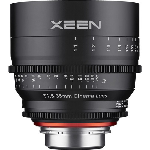 Samyang Xeen 35mm T1.5 Lens for Micro Four Thirds Mount