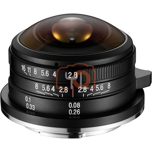 Laowa 4mm f/2.8 Fisheye Lens (Leica/Panasonic/Sigma L-Mount)
