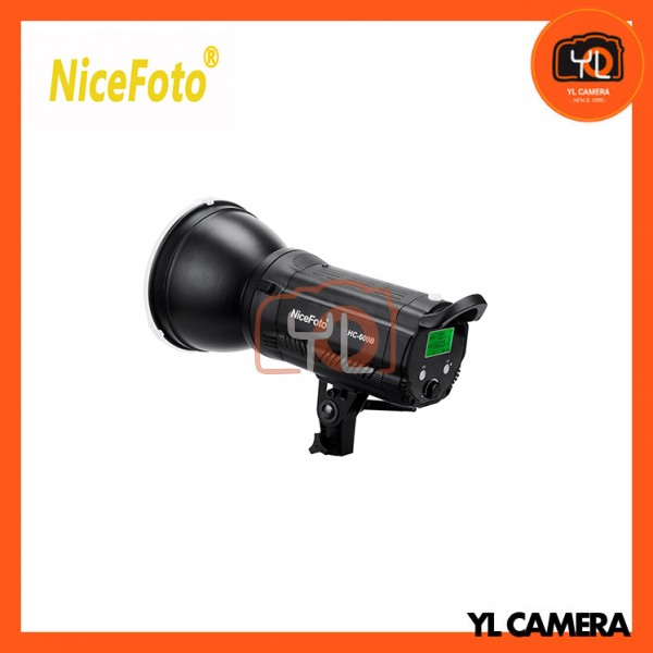 NiceFoto HC-600B 60W Daylight COB LED Video Light 3200K/5600K with Color Filters