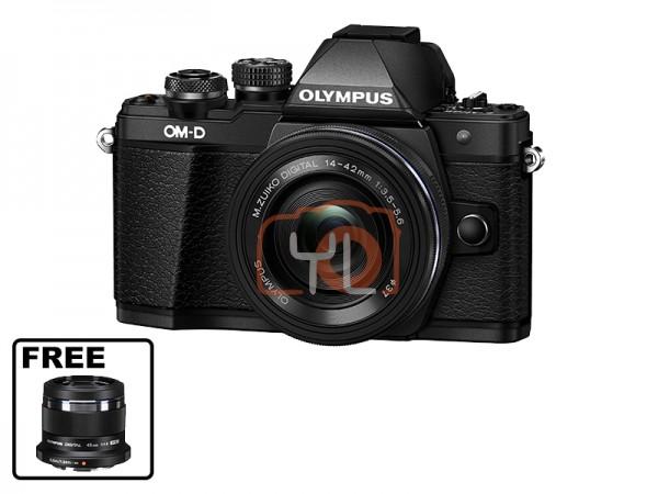 Olympus OM-D E-M10 Mark II + M.Zuiko 14-42mm EZ (Black)